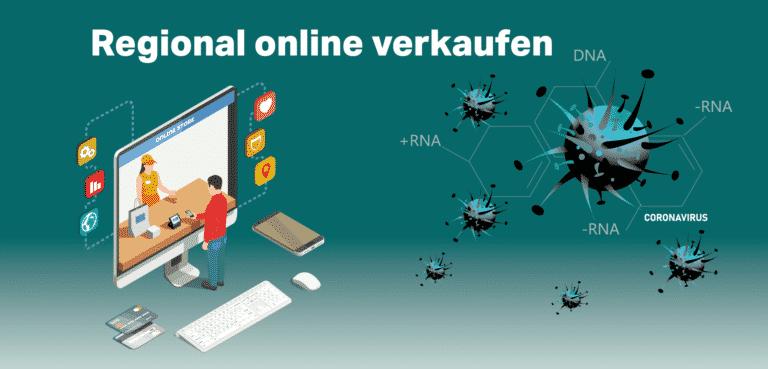 Coronavirus - regional online verkaufen